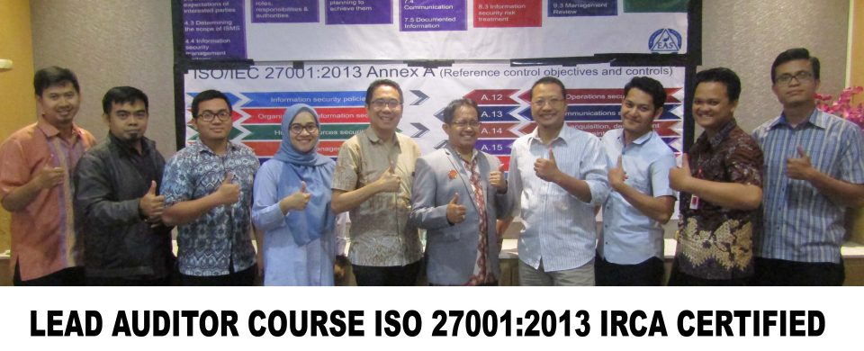 Lead Auditor Course ISO 27001 Jakarta