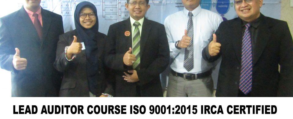 Training Lead Auditor Course ISO 9001:2015 Jakarta
