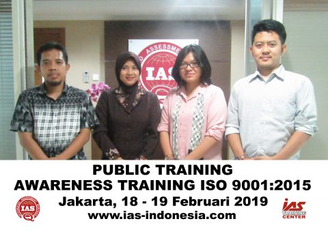 Training Awareness & Internal Audit ISO 9001:2015 Jakarta
