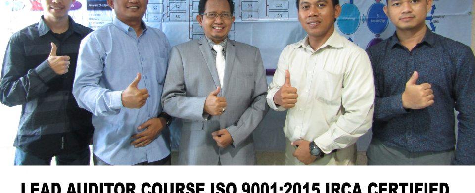 Lead Auditor Course ISO 9001 Jakarta Sertifikasi IRCA