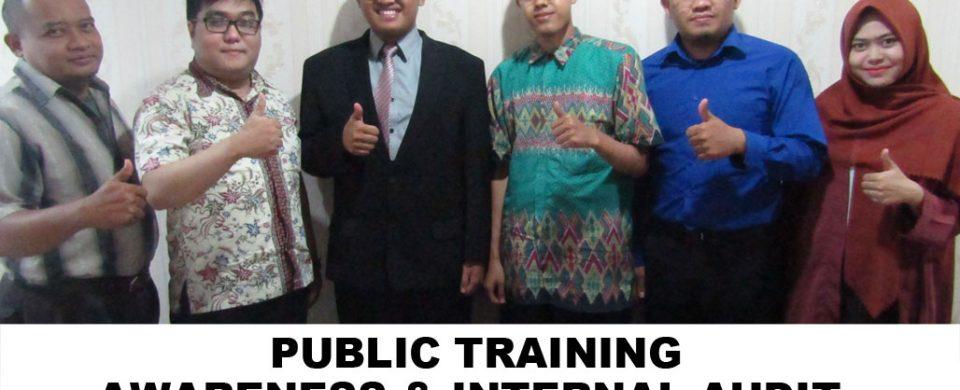 Training Awareness & Internal Audit ISO 9001:2015 Jakarta