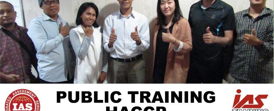 Public Training HACCP Jakarta