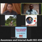 Training Online Awareness and Internal Audit ISO 45001:2018, 10 – 11 November 2020