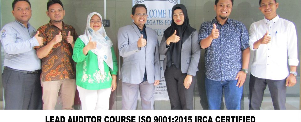 Training Lead Auditor ISO 9001 Batch XII
