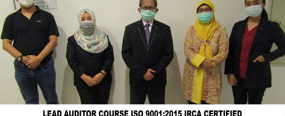 Training Online Lead Auditor Course ISO 9001 2015 Batch XIV