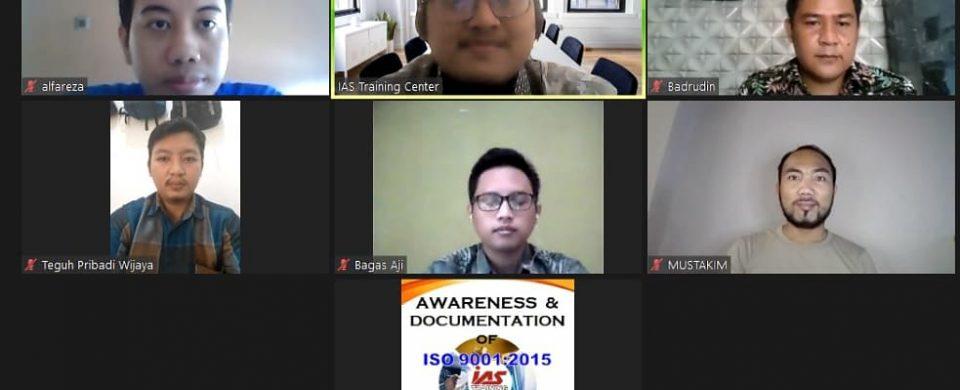 training online awareness & documenting iso 9001