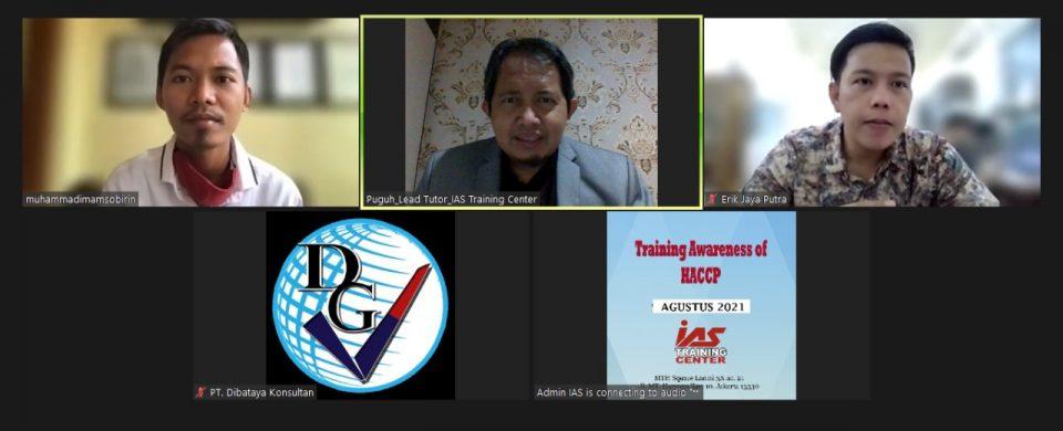Training Online HACCP